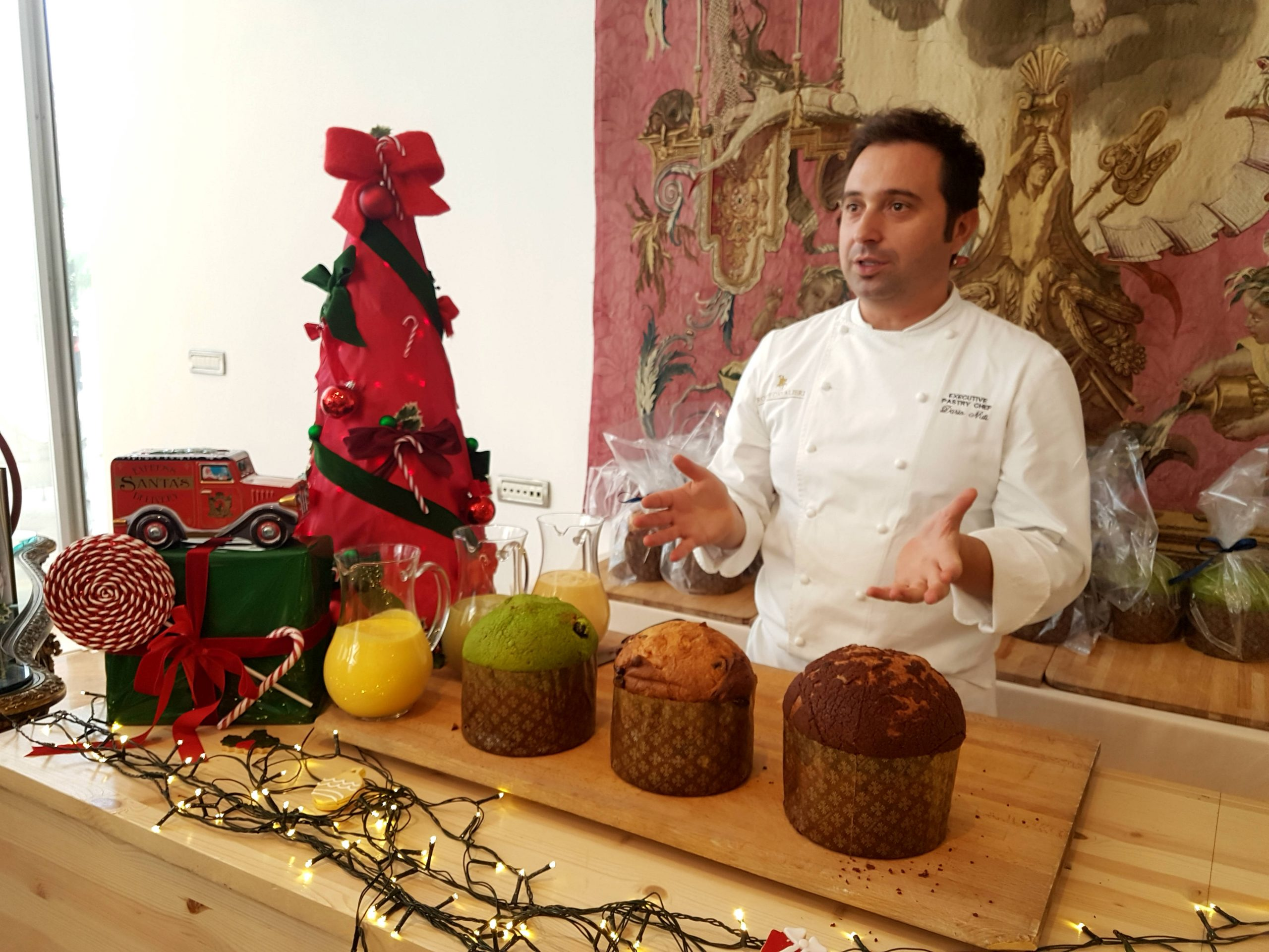 Rome at Christmas - head to the Rome Cavalieri Hotel