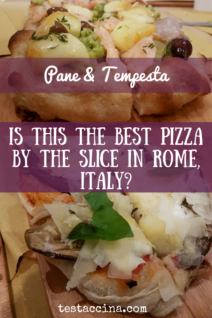 Does Pane & Tempesta serve the best pizza by the slice in Rome, Italy?