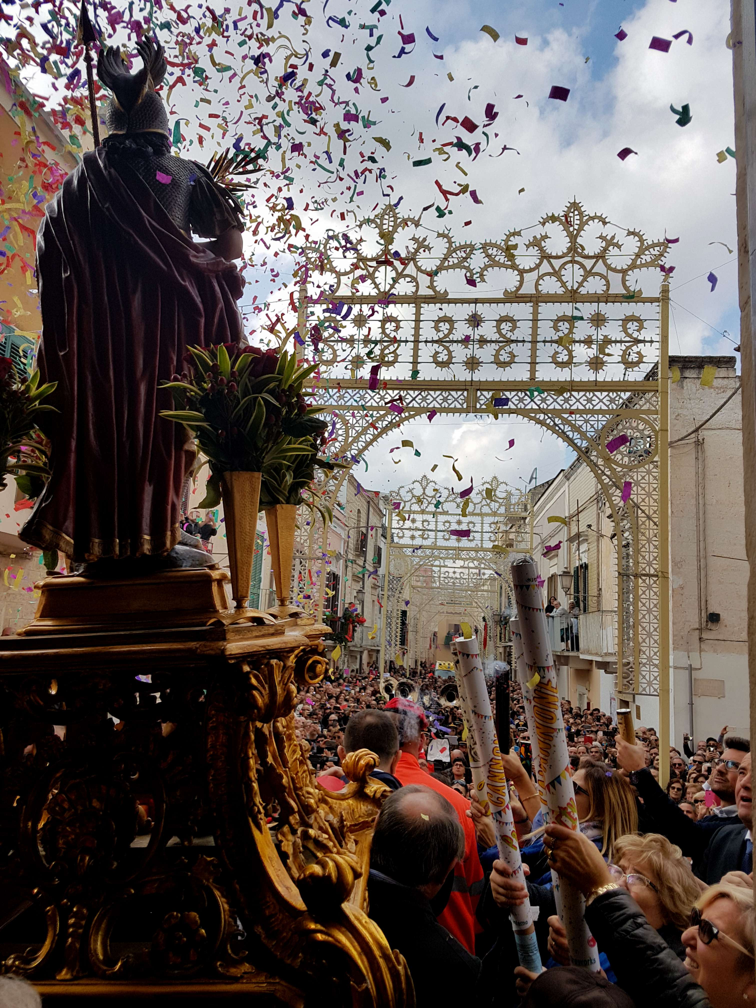 Adelfia is one of the best places to visit in Puglia, Italy, for the San Trifone Adelfia festival