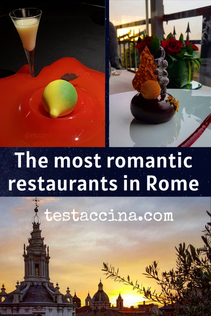 Most romantic restaurants in Rome #romantic #dinner #rome #proposal