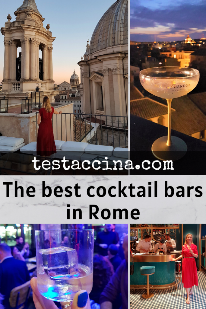 Best cocktail bars in Rome - prices & new openings #cocktails #rome #italy #romenightlife