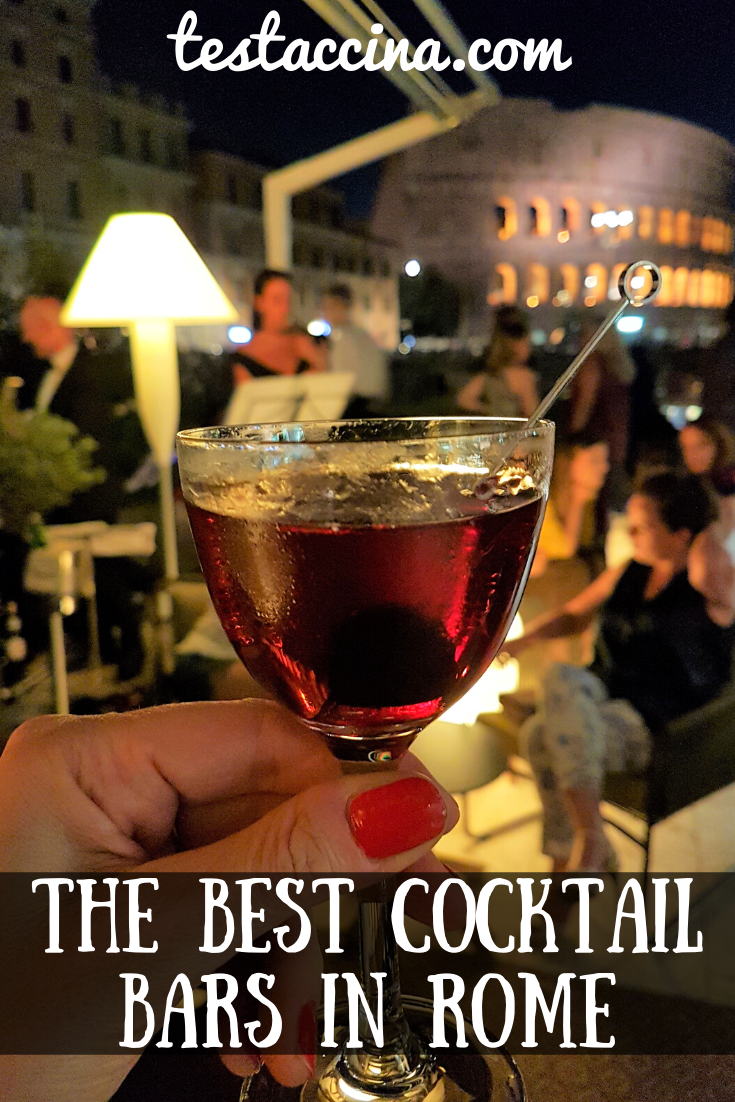 The best cocktail bars in Rome - prices and new openings. Reviews of the best bars in Rome.