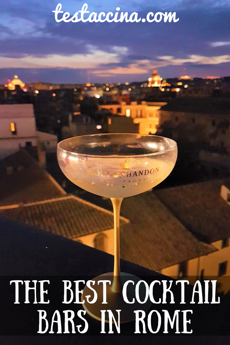 Best cocktail bars in Rome and the best cocktails in Rome - prices and new openings