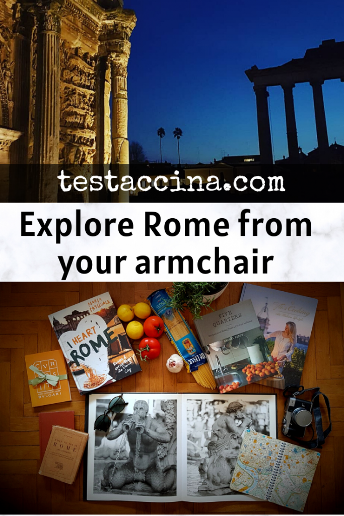 Explore Rome with armchair travel - a virtual tour of Rome #virtualrome #rome #lockdown