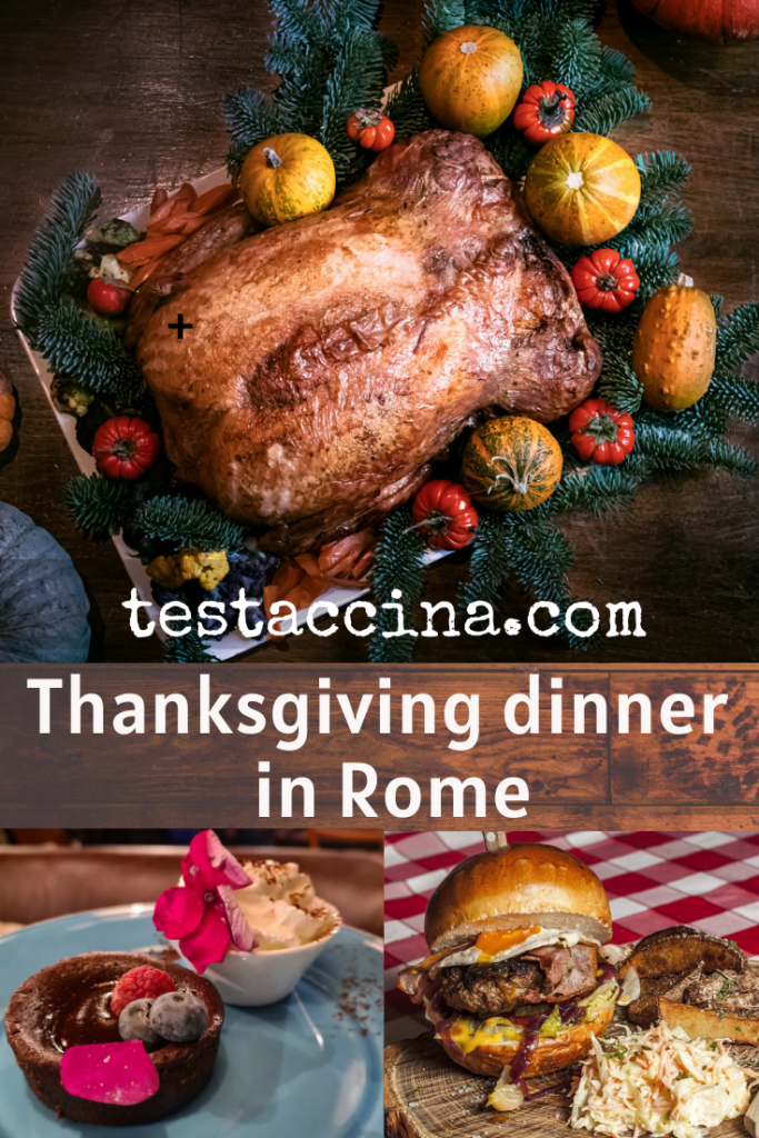 Thanksgiving dinner in Rome - 7 restaurant ideas   #thanksgiving #romerestaurants