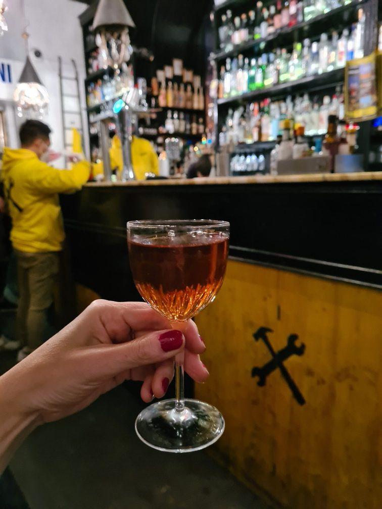 best Trastevere bars: Freni e Frizioni