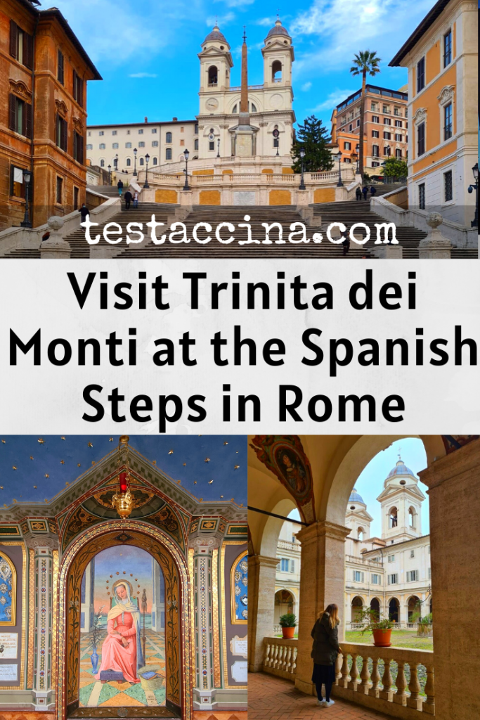 Visit Trinita dei Monti on the Spanish Steps in Rome, with this up-to-date guide featuring the opening hours, ticket price and history of the Trinita dei Monti church and convent.
