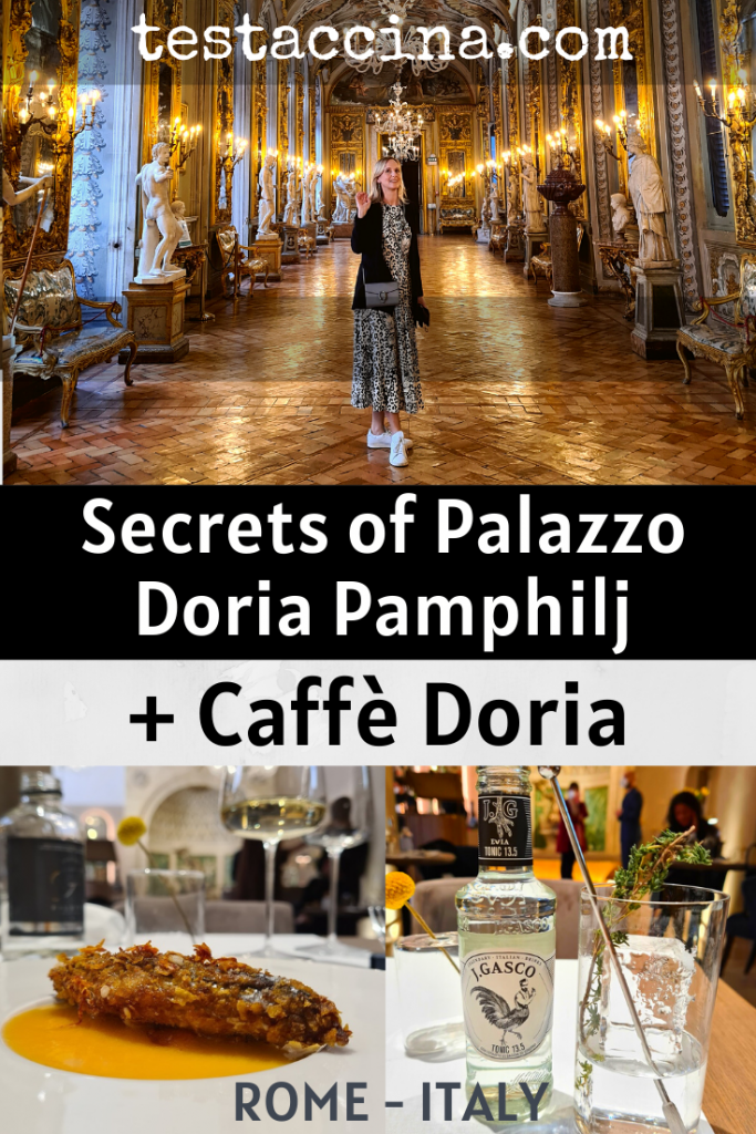Palazzo Doria Pamphilj is a hidden stately home in Rome with a priceless private art collection, Galleria Doria Pamphilj