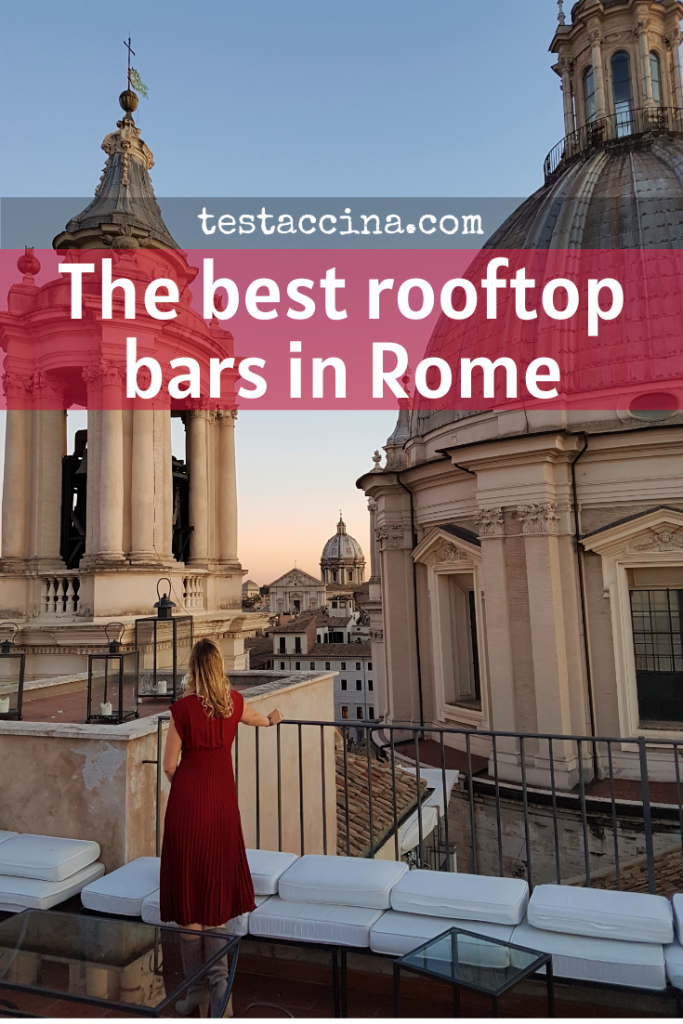 Best rooftop bars in Rome: cocktail bars with a view plus all the prices!