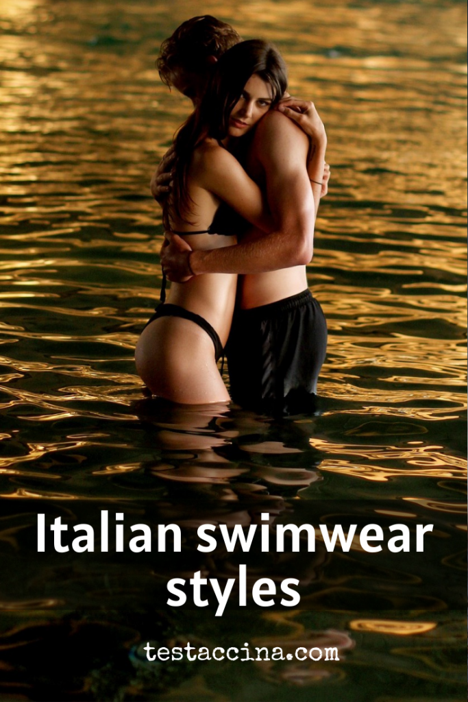 Italian swimwear styles - on-trend bikinis, swimsuits and trunks for a holiday to Italy