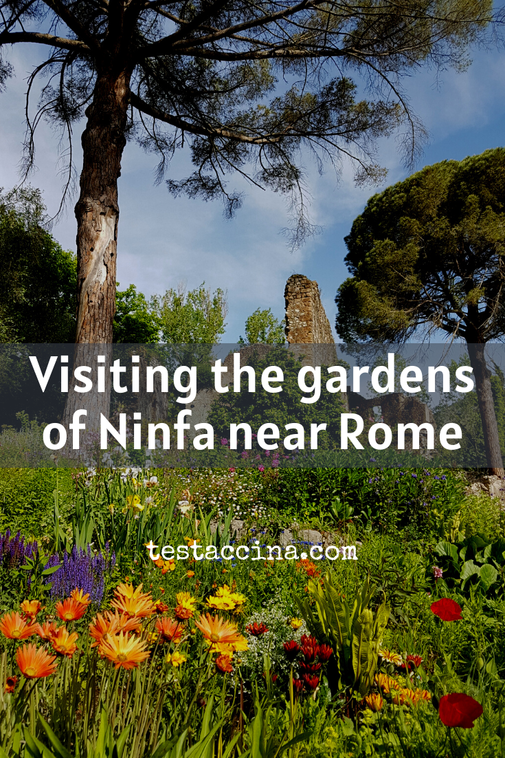 Visting the gardens of Ninfa near Rome: opening times, guided tours and how to get there!