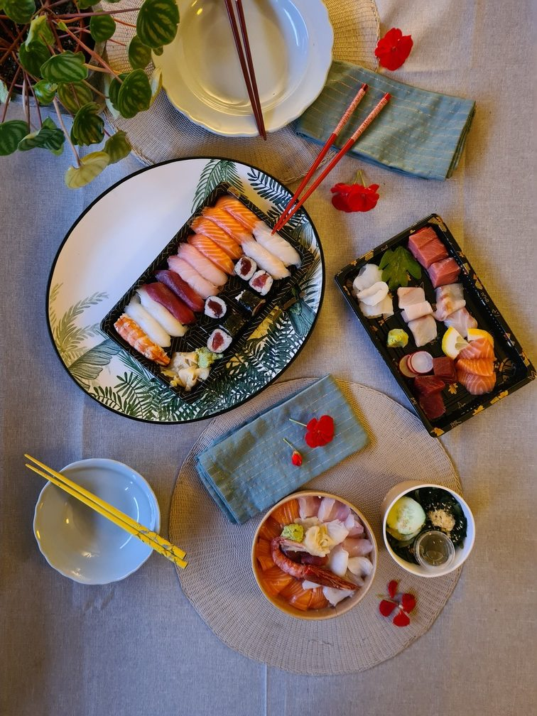 Best food delivery app in Rome: Moovenda, delivering food by the best Japanese restaurant in Rome, Hasekura