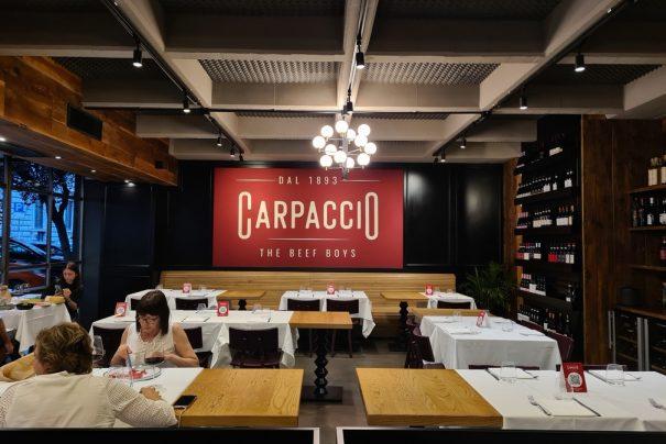 Carpaccio: Prati steakhouse and raw meat restaurant
