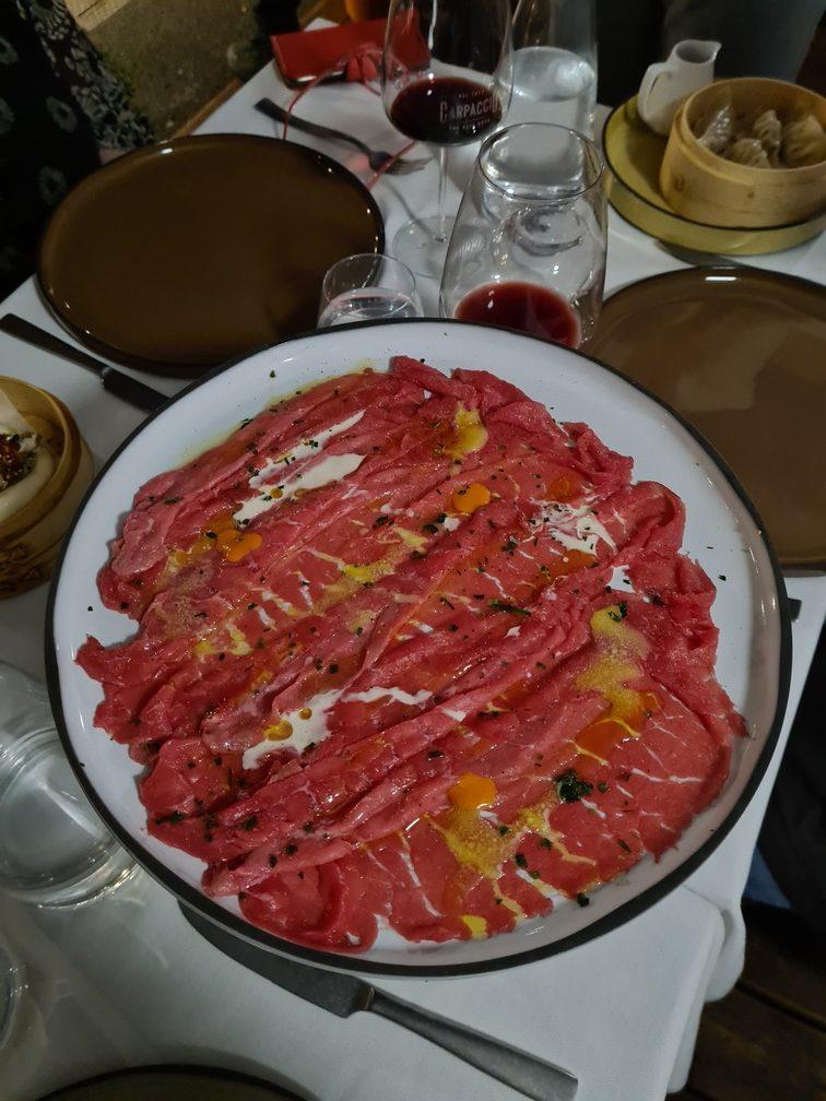 Prati Carpaccio restaurant near the Vatican